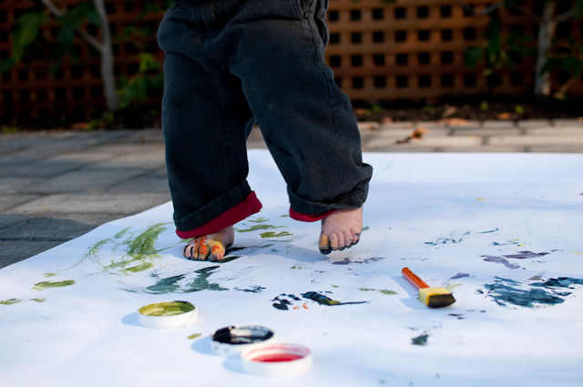 Painting with a toddler-5