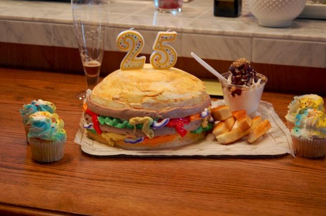Burger_cake