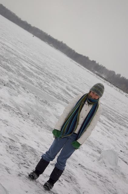 On_lake