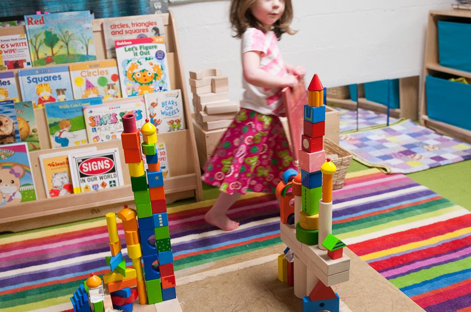 Block towers with Haba Fantasy Blocks