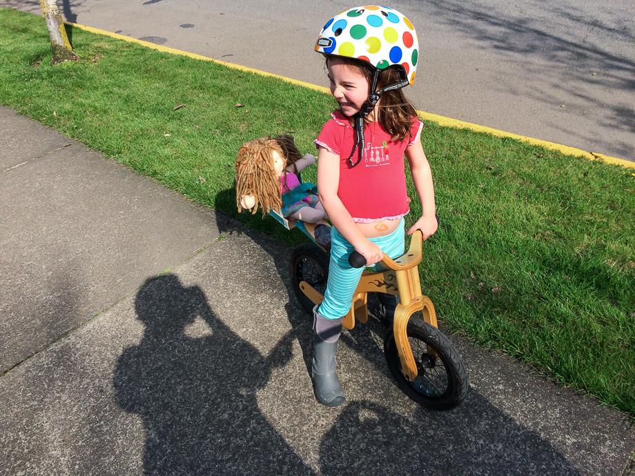 dolly bike seat for glide bike